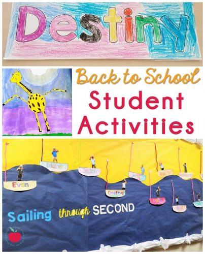 Student projects for Back to School