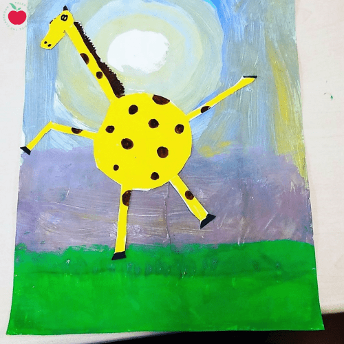 Giraffes can't dance art