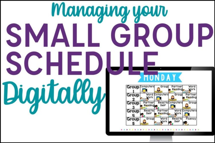 Managing your Small Group Schedule Display