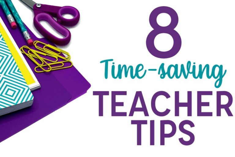 8 Time-saving teacher tips with school supplies