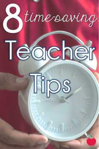 8 time-saving tips for teachers