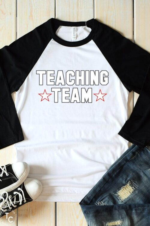 Flat Teaching Team Raglan