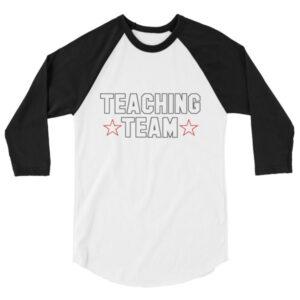 teaching team raglan tee