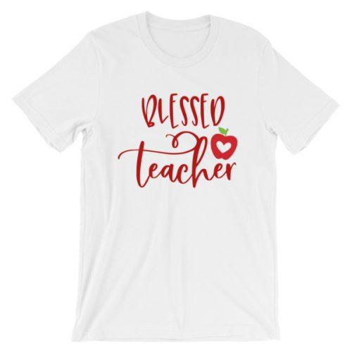 Blessed teacher tee