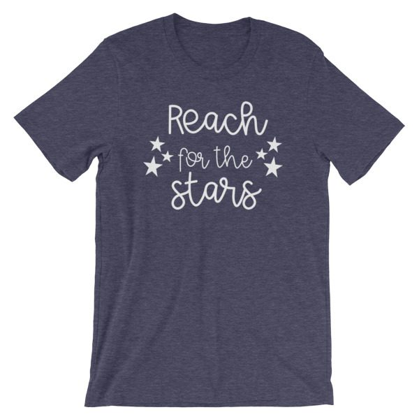 Reach for the stars tee heather midnight