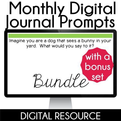 Digital Journal Writing