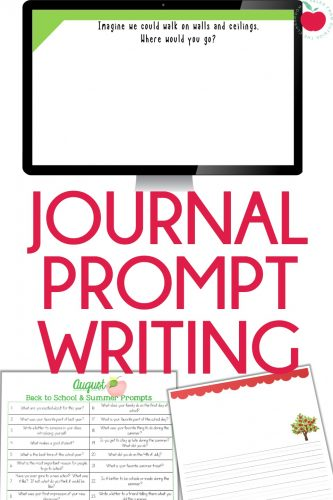 Journal Prompts in the Classroom
