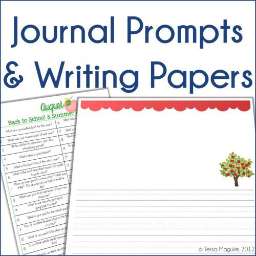 Journal prompts and publishing papers