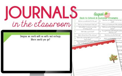 Journal Prompt Writing in the Classroom