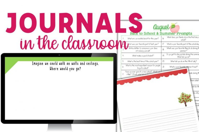 Journal writing in the classroom