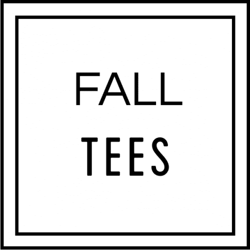 Fall Teacher Tees