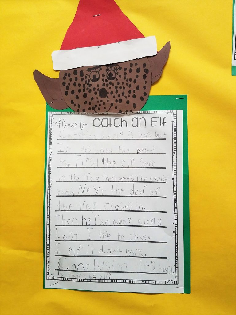 How To Catch An Elf Tales From Outside The Classroom