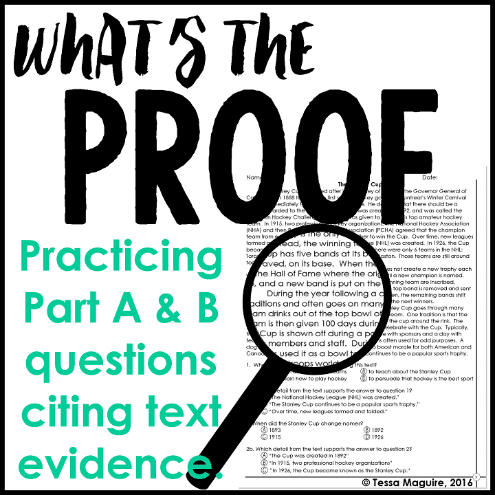 What's the Proof text evidence product cover
