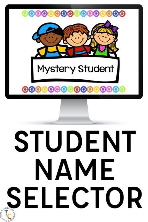 Random Student Name selector image