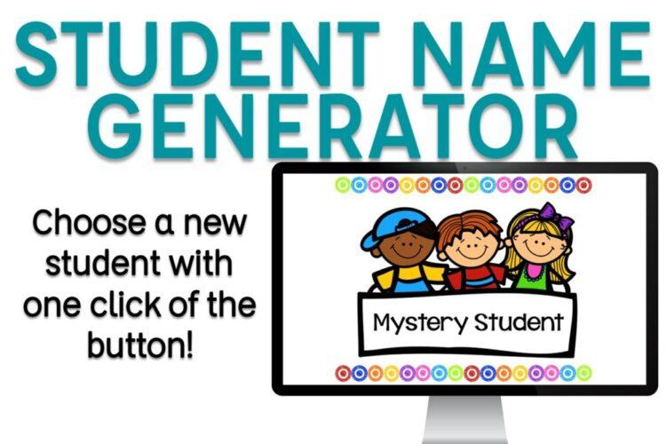 Student Name Generator blog post image