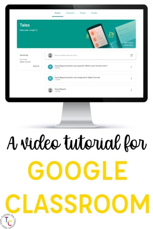 A video tutorial for Google Classroom