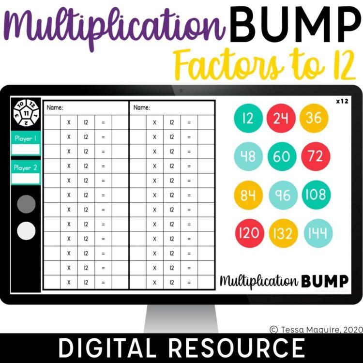 Digital Multiplication Bump Factors to 12