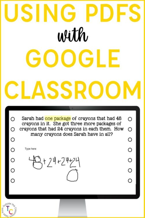How to Use Any PDF in Google Classroom