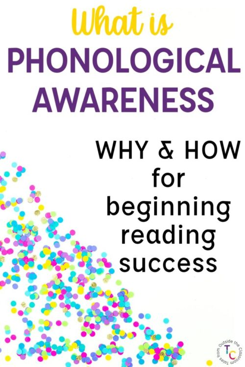 What is Phonological Awareness: Why and How for beginning reading success