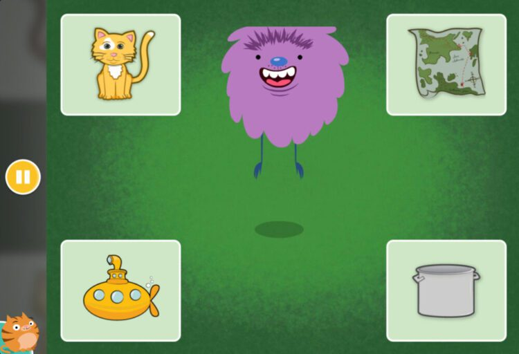 Segmenting Quiz Online Game: Isolating Beginning, Middle, and Ending Sounds