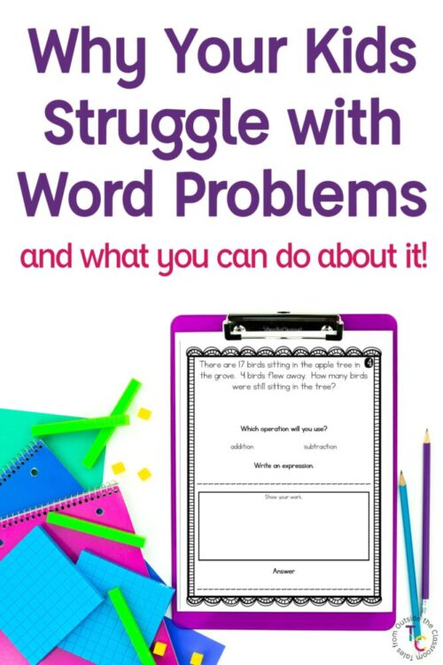 Why your students struggle with word problems and what you can do about it