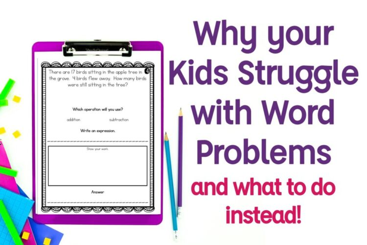 Why your Kids Struggle with Word Problems and what to do sintead