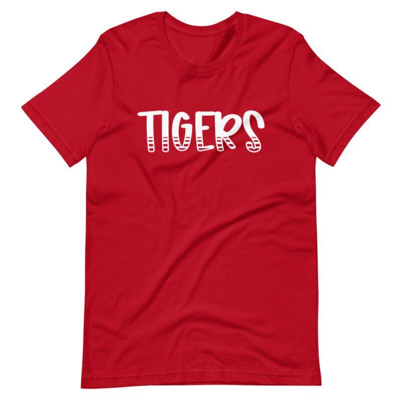 Red Tigers School Spirit Tee for teachers